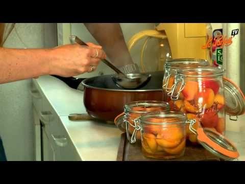 Recette Abricots au sirop - Le Parfait