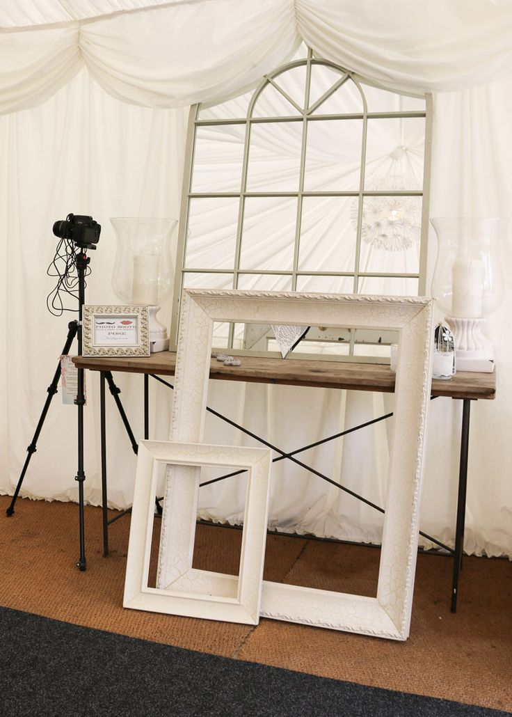 Large photo frames £10 hire fee on their own  Or including in the photo booth prop hire fee