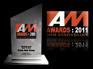 Our 2011 AM Award for the Best UK Retail Group.
