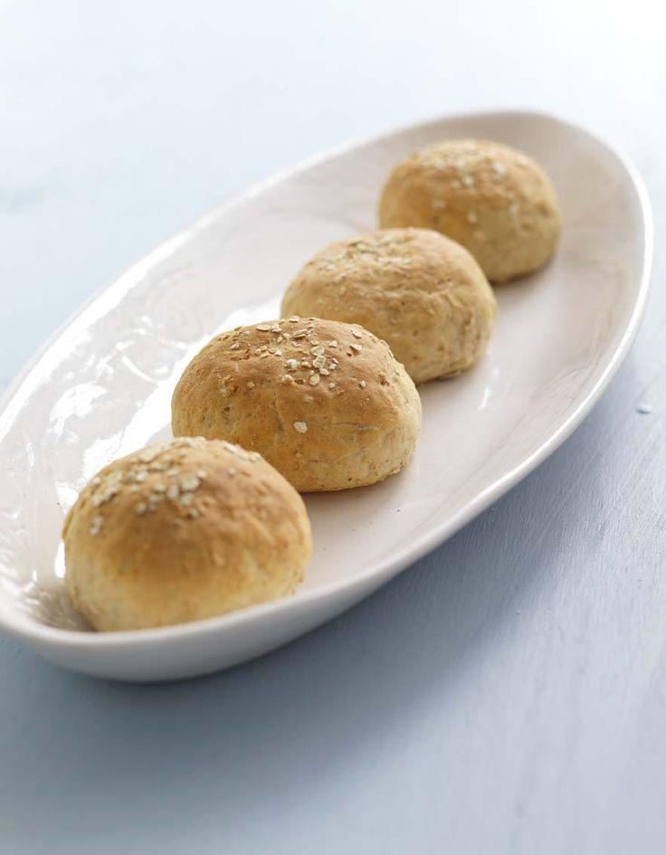 Havrerundstykker - Opplysningskontoret for brød og korn