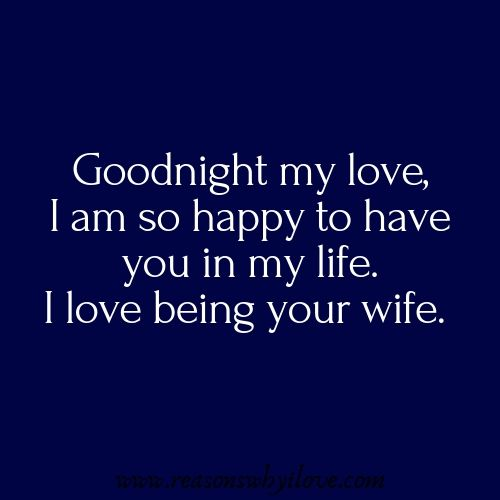 Goodnight Messages For Husband Goodnight Message For Him Reasons