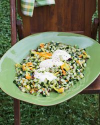 Zucchini with Niçoise Olives and Burrata Recipe