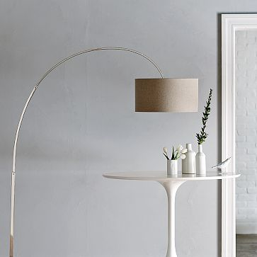 Arch floor lamp. But I would have to replace the shade with a white one. $249