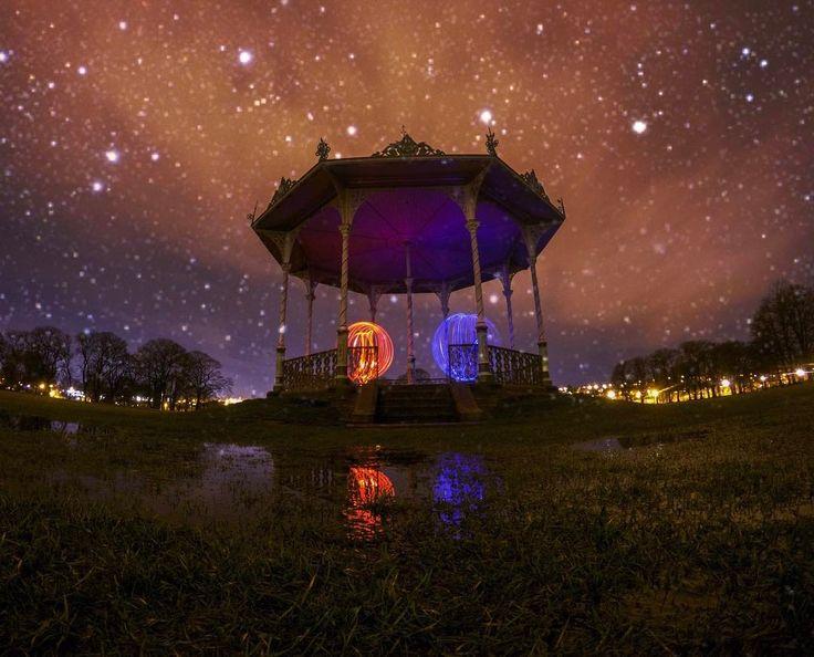 Ghouls playing in the park  @goprouk #HERO5 #lightpainting . . .  GoPro HERO5 Black - Night Lapse Mode . . . #goprouk #orbup #goprooftheday #steelwoolandlandmarks #goproawards #goprofamily #goprotravel #bandstand #photooftheday #visitscotland #travel #lightpainting #goprouniverse #travelgram #spingodz #awesomelifestyle #abandonded #goprohero5 #lightjunkies #gopro_epic #couple #gopro_styles #outdoortodolist #gopro_boss #wonderful_places #nightcrawler #weownthenight #scotland…
