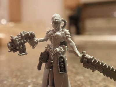 Faeit 212: Warhammer 40k News and Rumors: Last Night's Project. Female Ordo Hereticus Inquisitor