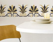 Wall Pattern Stencil It's Greek to Me by royaldesignstencils, $31.00