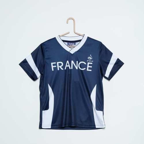 Prezzi e Sconti: #Maglietta stampa 'equipe de france'  ad Euro 10.00 in #Bambino bambino 3 12 anni sport #Abbigliamento taglie forti