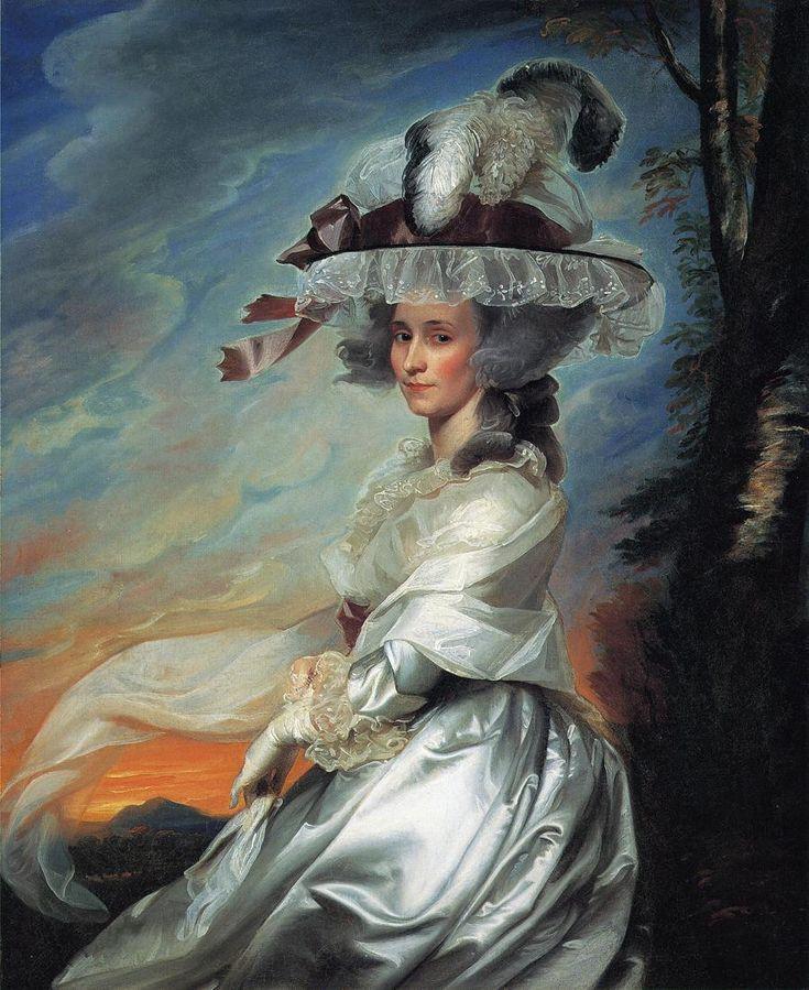 Amazing work! Mrs.Daniel Denison Rogers - John Singleton Copley...  From...  http://www.wikipaintings.org/en/john-singleton-copley/mrs-daniel-denison-rogers#supersized-artistPaintings-188541