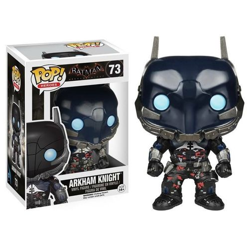 The Arkham Knight Funko Pop vinyl figure. #arkham_knight #heroes #funko #pop_vinyl #popinabox
