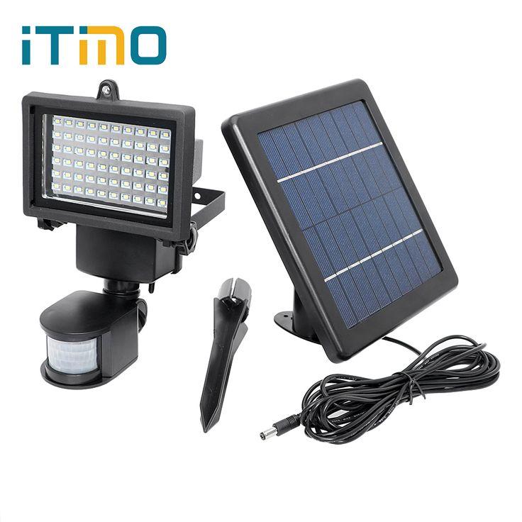 Die besten 25 solarlampe mit bewegungsmelder ideen auf pinterest gartenlampe mit - Wandbeleuchtung solar ...