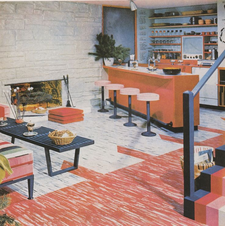 493 best mid century homes images on pinterest mid for Better homes and gardens swimming pools