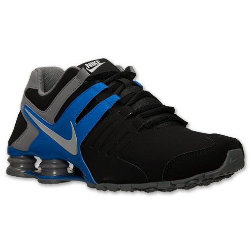 6c7ffaa2706 ... low cost mens nike shox current running shoes finish line black hyper  cobalt cool ffae0 a18fd