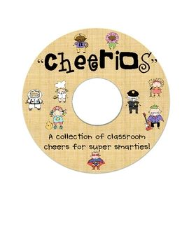cheers to do with your kiddos to encourage classroom unity, positive reinforcement, and excitement!!