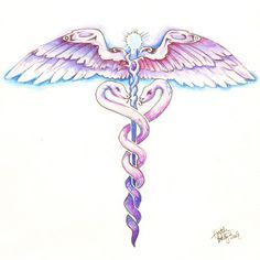 Nurse Caduceus Tattoo | medical symbol tattoos | ... Full Summery Caduceus Superhit Tattoos ...
