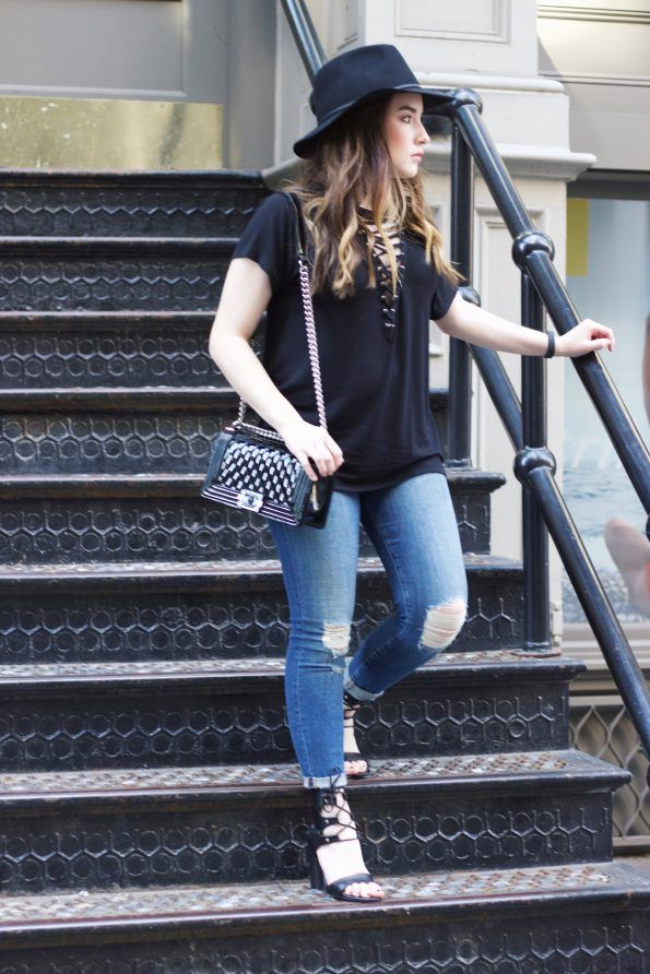 Soho Style - #CarolineRenae #Express #JBrand #Chanel #KarenWalker