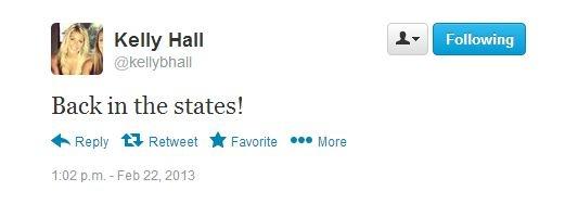 Matthew Staffords Girlfriend Kelly Hall Back In A Bikini [PHOTOS] | BustedCoverage  Sports Gossip | Drunk Athletes | Hot Cheerleaders | Football News