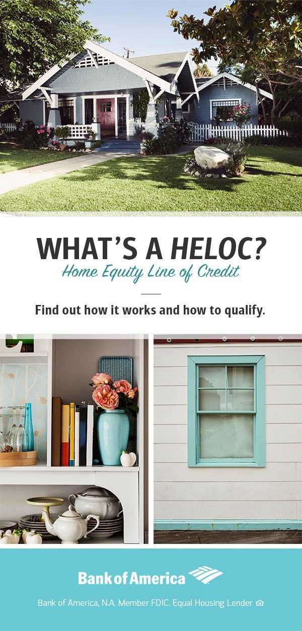 A home equity line of credit, also known as a HELOC, is a line of credit secured by your home that gives you revolving access to funds. You can use it for large expenses or to consolidate high-interest rate debt on other loans. Find out how it works and how to qualify here.
