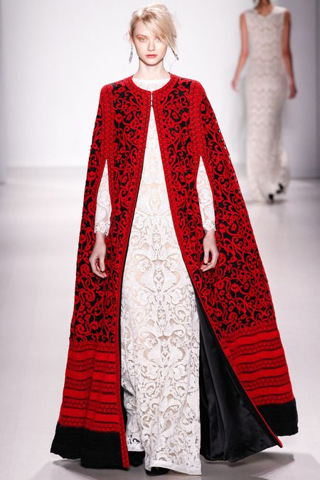 Tadashi Shoji's Fall 2014 cape is what dreams are made of!