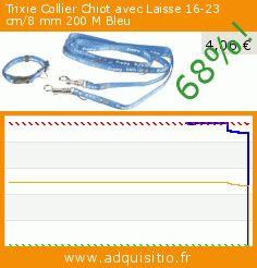 Trixie Collier Chiot avec Laisse 16-23 cm/8 mm 200 M Bleu (Divers). Réduction de 68%! Prix actuel 4,06 €, l'ancien prix était de 12,63 €. http://www.adquisitio.fr/trixie/collier-chiot-avec-laisse-1