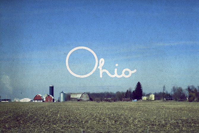 ohio, postcards by Vince Soliven: Soliven Postcards, Vince Soliven, Postcard Project, Ohio, Married Life, Place