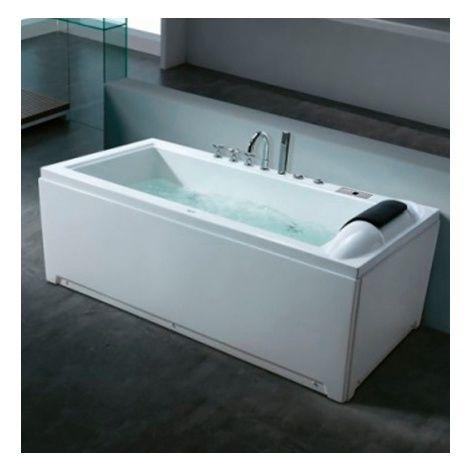 17 meilleures id es propos de baignoire balneo sur pinterest baignoire ba - Baignoire d angle ikea ...