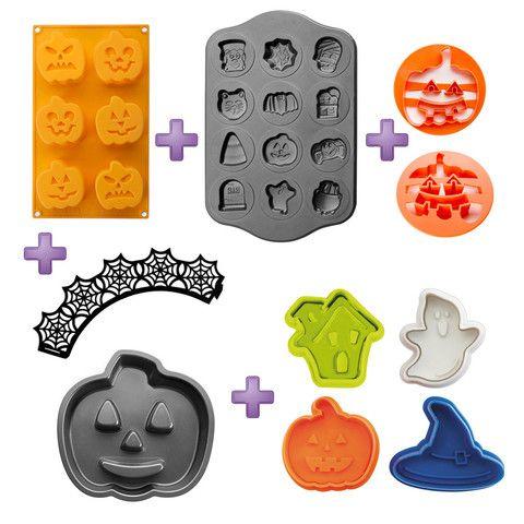Moldes Halloween , cortador galletas Halloween, pastel – dcocina