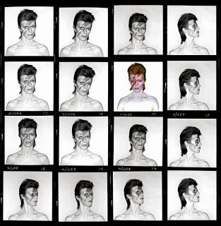 Bowie contact sheet