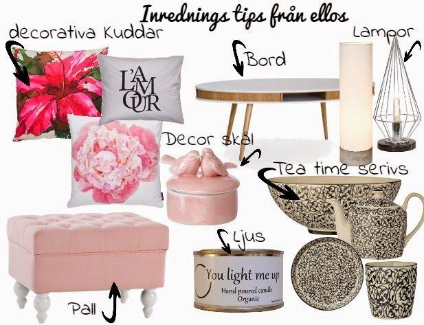 Mode Världen: Inrednings Tips ! Snygga små decor detaljer till v...