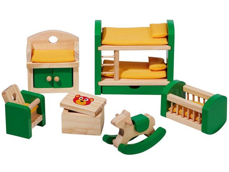 PLAYTIVE® JUNIOR Puppenhaus- Möbelset - Lidl Deutschland - lidl.de