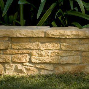 Hadrian Wall retaining wall blocks - Straight Wall Set