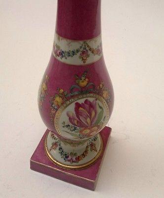 Stunning c1785 Meissen Marcolini porcelain narghile/nargile Ottoman/Turkish