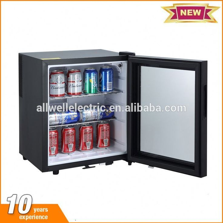 Factory price hotel room thermoelectric 12 can mini fridge