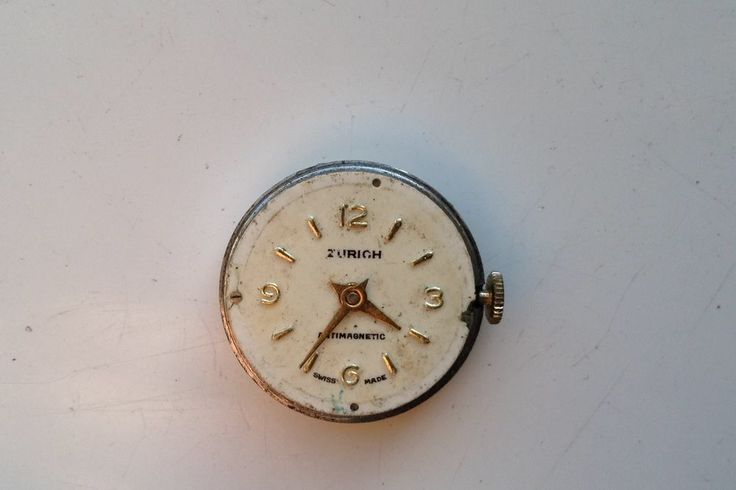 AUCTIONS ENDING ON SUNDAY 7 MAY FROM 8pm NEW AUCTIONS STARTING ON THURSDAY 4 MAY FROM 8pm.........LADIES VINTAGE ZURICH ANTIMAGNETIC SWISS MADE WATCH FOR SPARES OR REPAIRS