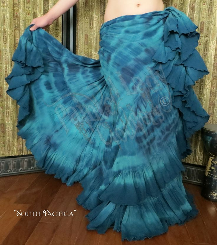 """""""South Pacifica"""" Marble FX 25 Yard Petticoat Skirt  You can order yours here:  http://www.paintedladyemporium.com/Shop-Here.html"""