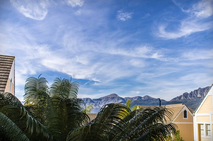 Stunning views of mountains can be seen from this Wellington house.