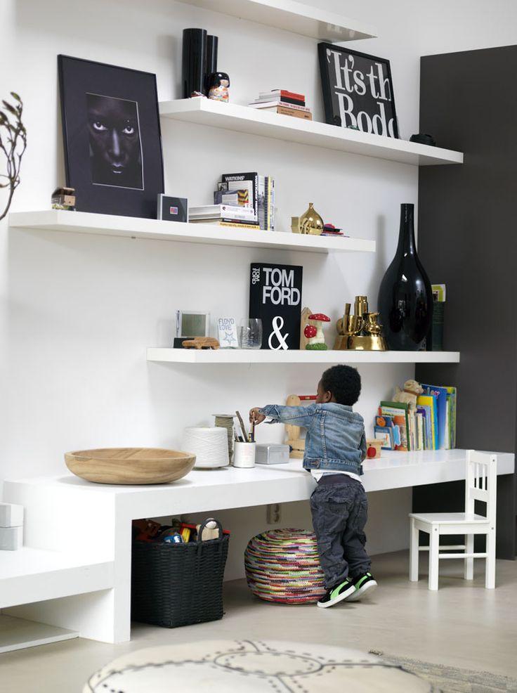 Vi må nok erkende, at de fleste ungebørn opholder sig mere i stuen hos de voksne, end inde på deres...