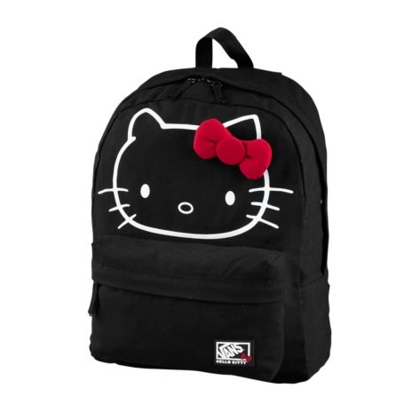Shop for Vans Hello Kitty Backpack in Black at Journeys Shoes. Shop today for the hottest brands in mens shoes and womens shoes at Journeys.com.Canvas Hello Kitty backpack from Vans features face print with 3D bow, two zippered compartments, and adjustable shoulder straps.