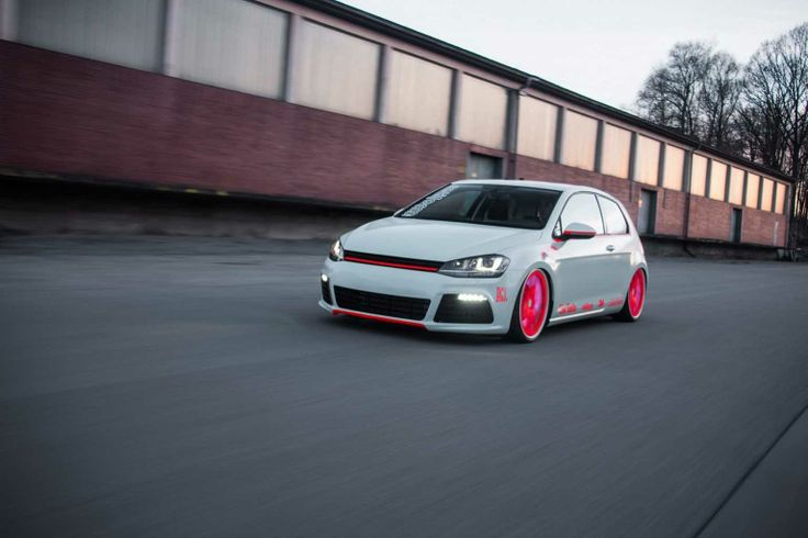 Volkswagen Low Volkswagen Golf Mk7 Modifications By Low