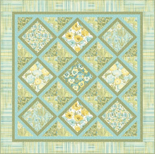 Garden trellis florabunda by benartex garden trellis in for Garden trellis designs quilt patterns