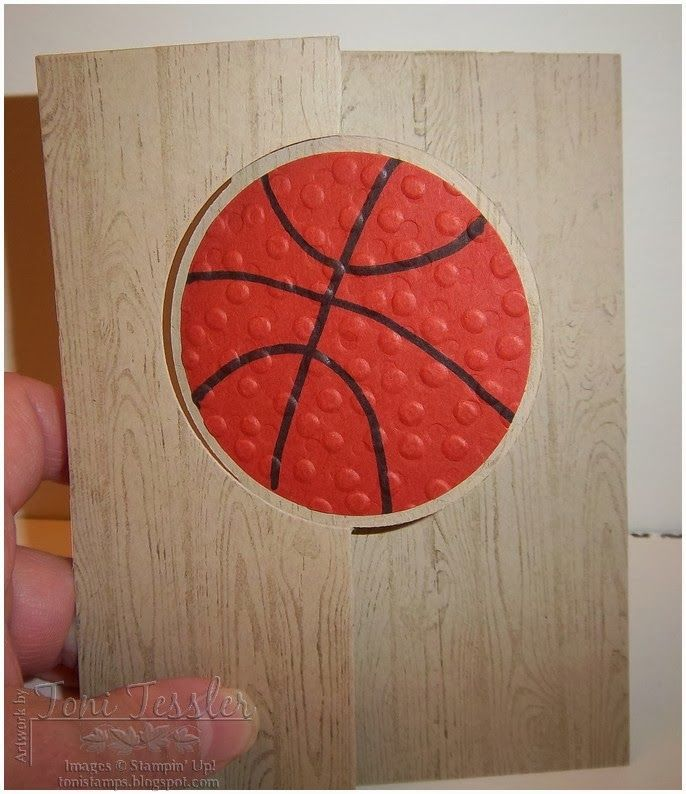 I've had this idea for a while, and finally got to make it last night. A basketball card! The words on the flip side could be anythin...