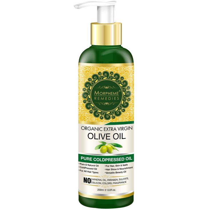 Morpheme Organic Extra Virgin Olive Oil (Pure ColdPressed Oil) For Hair, Body, Skin Care, Massage, Eyelashes 200 ml * Check this useful article by going to the link at the image. #hairenvy