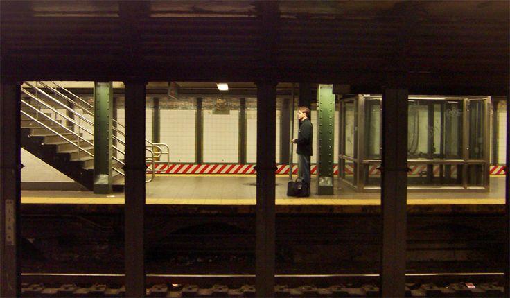 edward hopper | Barcelona-Chile: Edward Hopper, subway