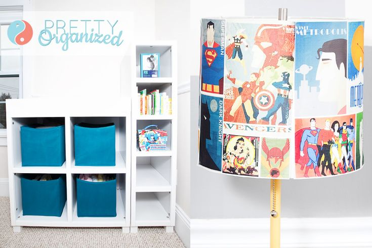 81 best for my 6 years son images on pinterest boy for Comic book bedroom ideas