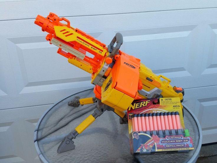 nerf automatic machine gun