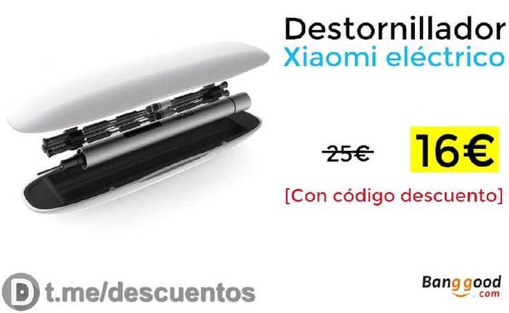 Descuento en destornillador eléctrico Xiaomi [Actualizado dic 2017] - http://ift.tt/2f9CcZ8