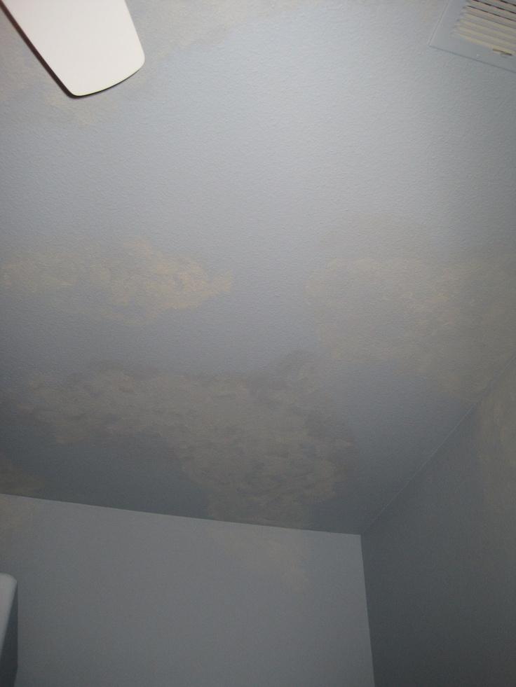 subtle ceiling clouds