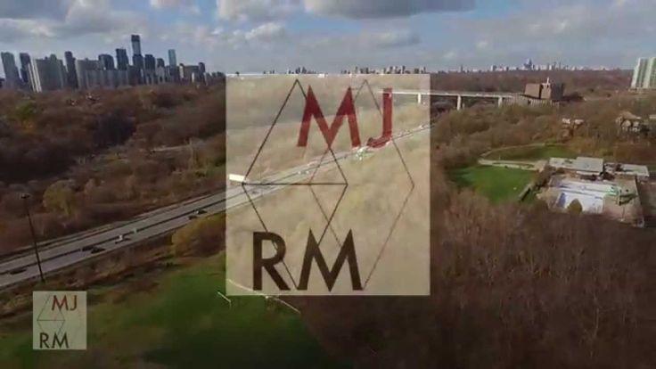 Drone Flight in Riverdale Park, Toronto