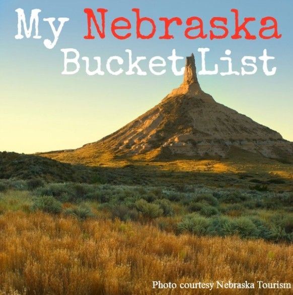 Nebraska Bucket List - Lots of places to take the kids to in Nebraska, including Toadstool, the NCAA College World Series and Chimney Rock