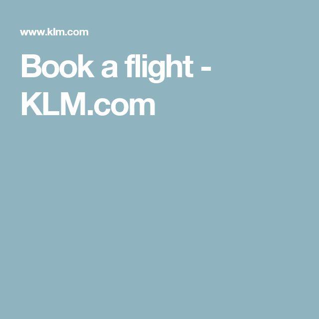 Book a flight - KLM.com