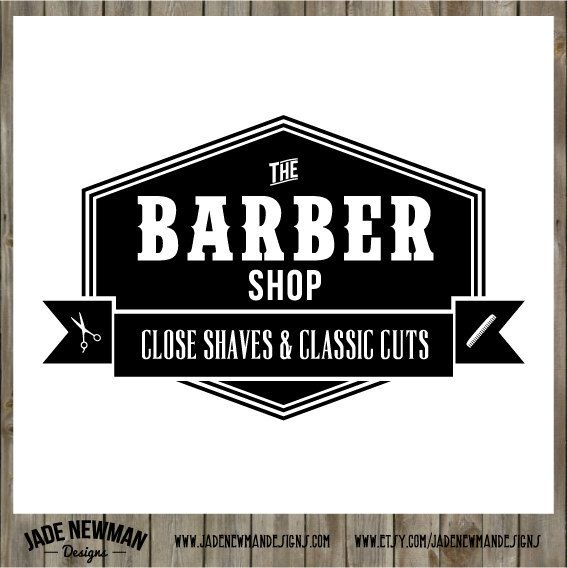 barber logo design - photo #17